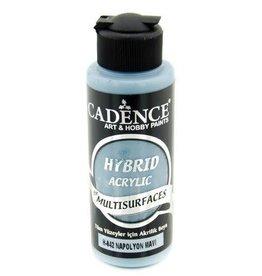 Cadence Cadence Hybride acrylverf (semi mat) Napoleon blauw 120 ml