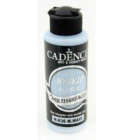 Cadence Cadence Hybride acrylverf (semi mat) Mild blauw 120 ml