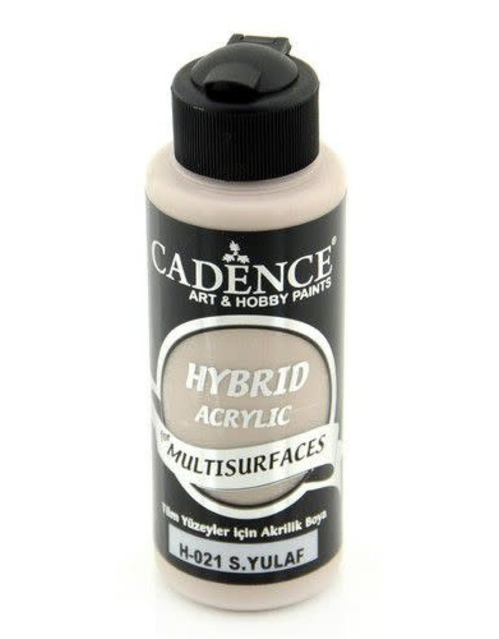Cadence Cadence Hybride acrylverf (semi mat) Warm oat 120 ml