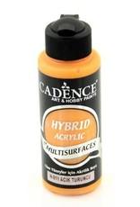 Cadence Cadence Hybride acrylverf (semi mat) Lichtoranje 120 ml