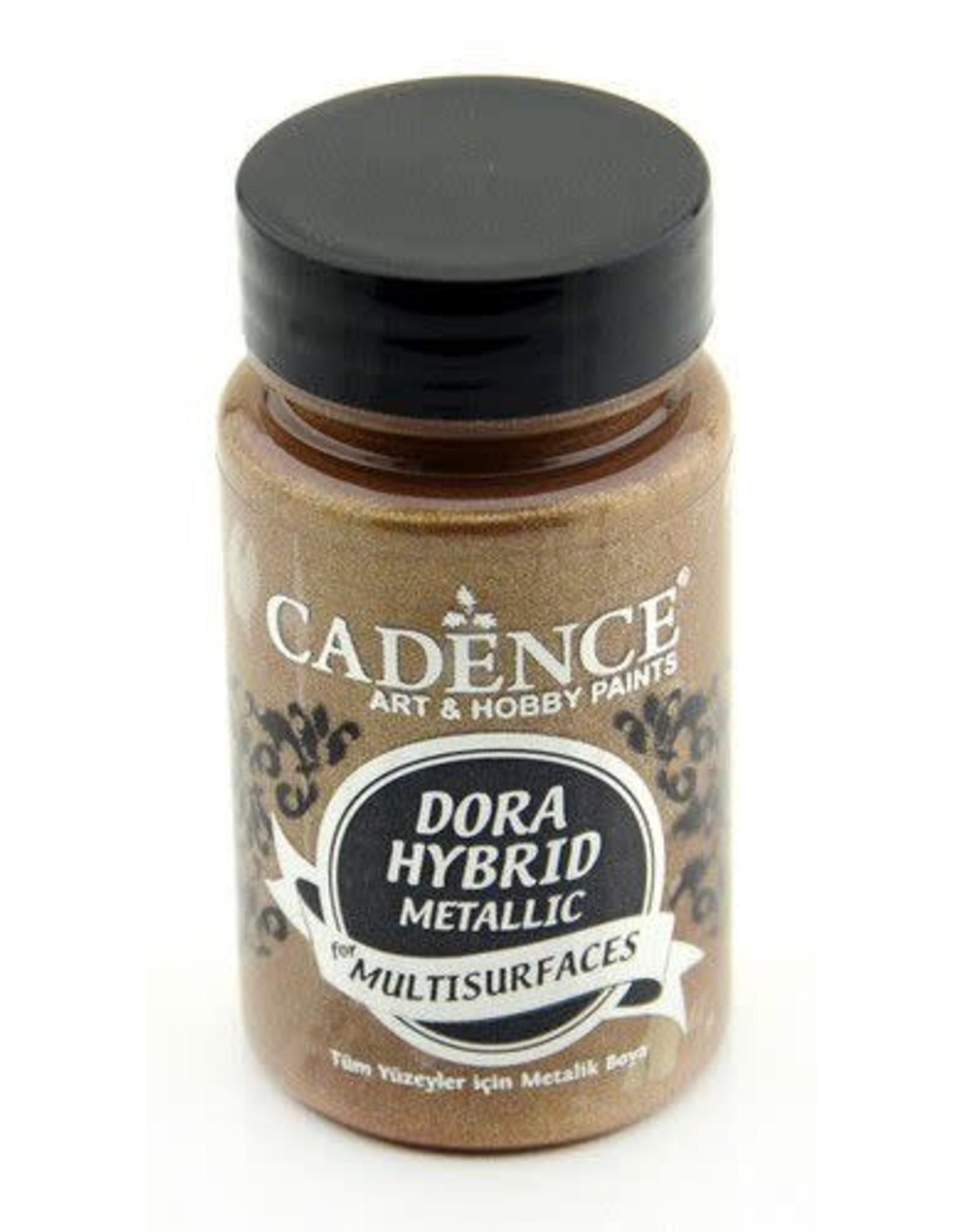 Cadence Cadence Dora Hybride metallic verf Antiek goud 90 ml