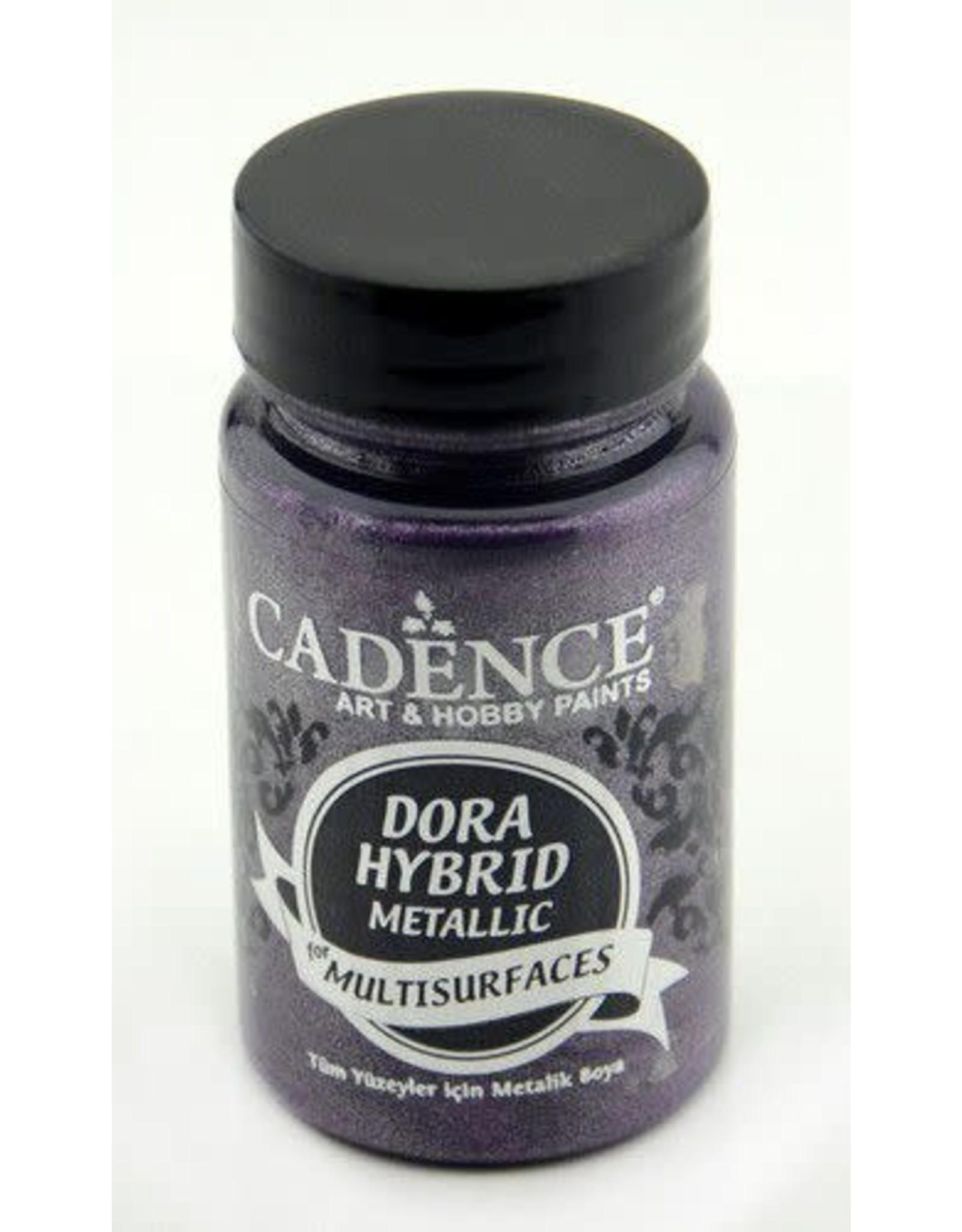 Cadence Cadence Dora Hybride metallic verf donker Orchidee 90 ml