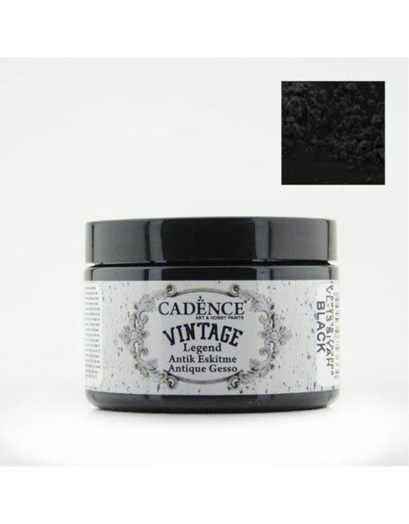 Cadence Cadence Vintage Legend gesso Zwart 150 ml