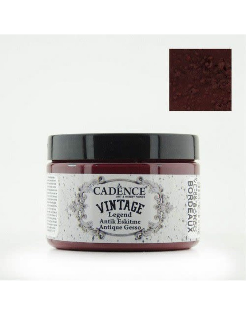 Cadence Cadence Vintage Legend gesso Bordeaux  150 ml