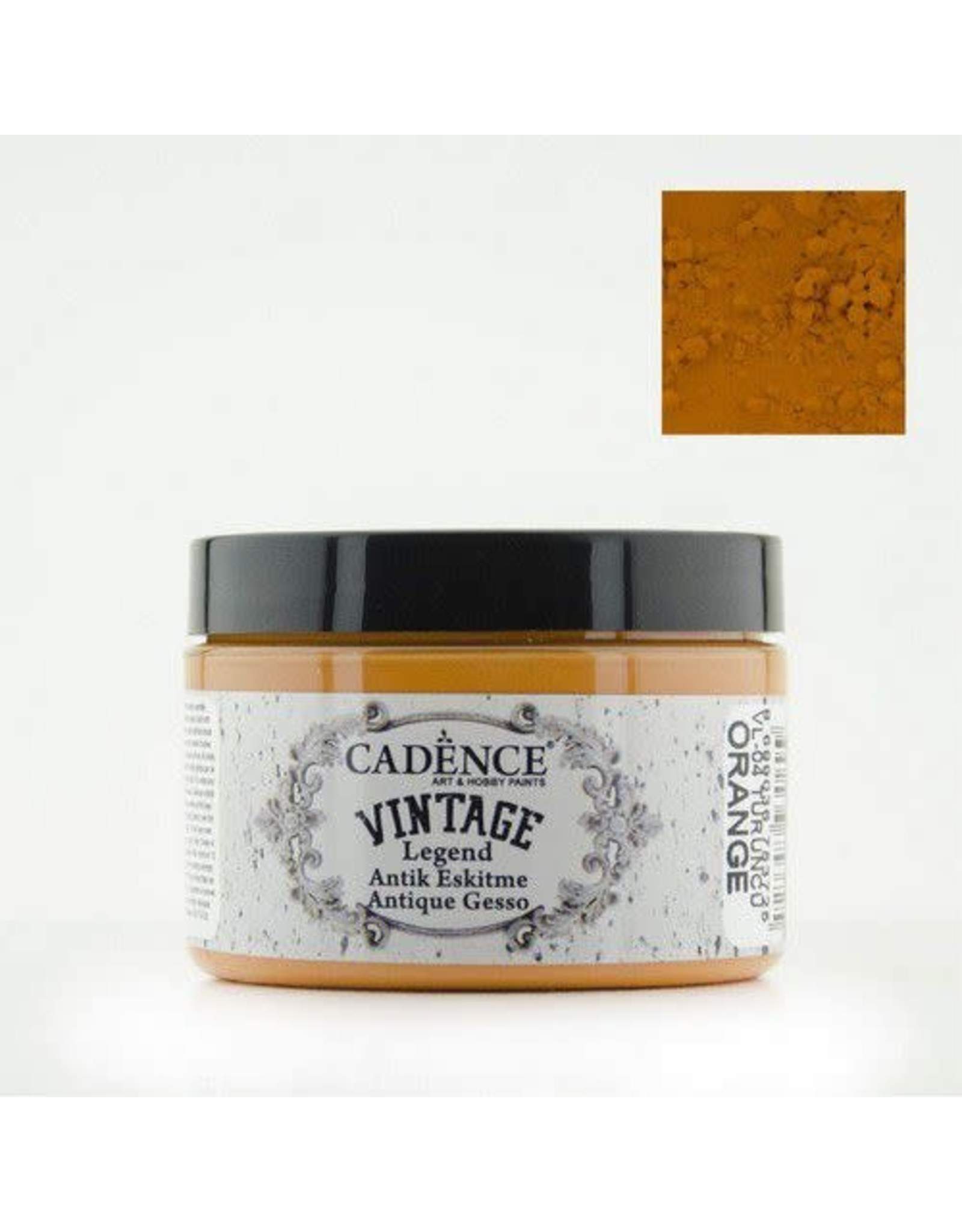 Cadence Cadence Vintage Legend gesso Oranje 150 ml