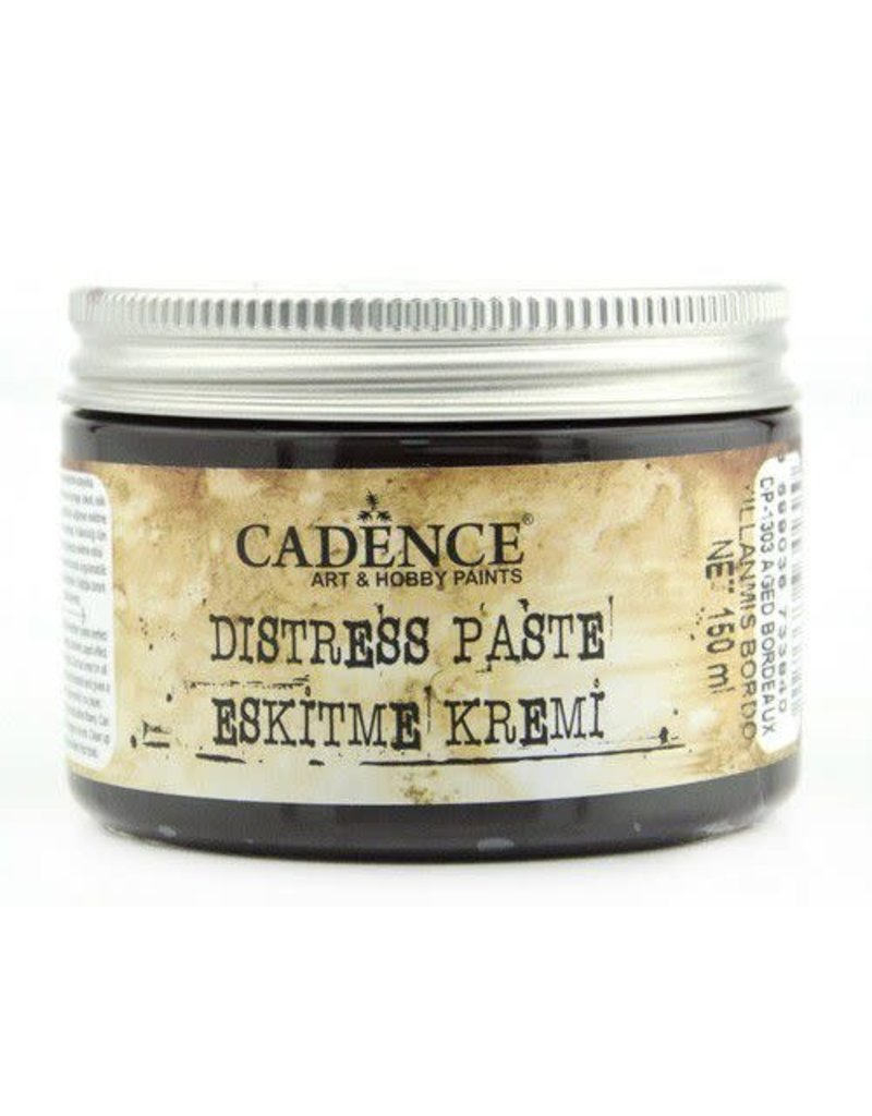 Cadence Cadence Distress pasta oud bordeaux  150 ml