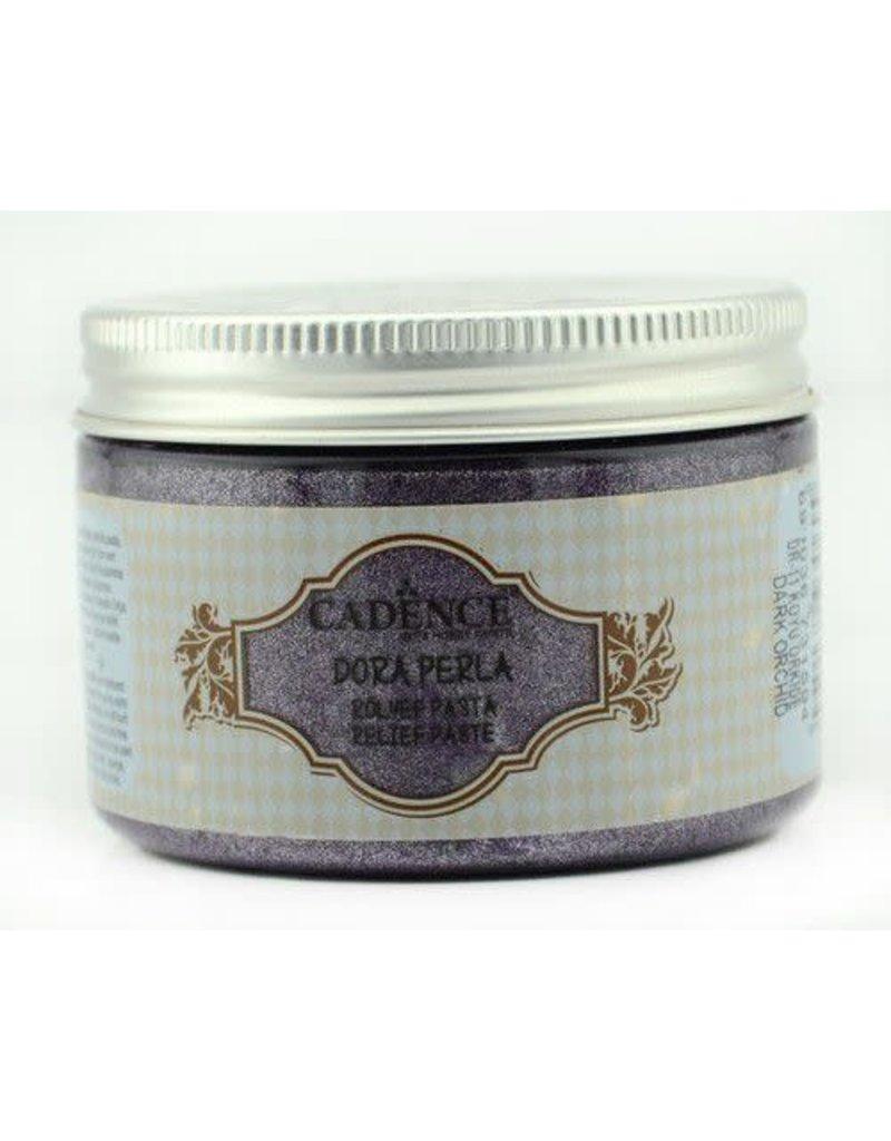 Cadence Cadence Dora Perla Met. Relief Pasta donker orchidee  150 ml