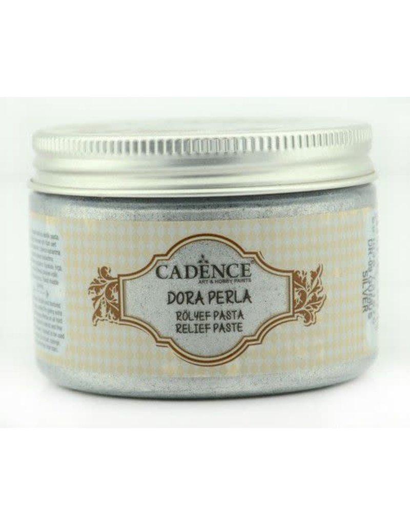 Cadence Cadence Dora Perla Met. Relief Pasta Zilver  150 ml