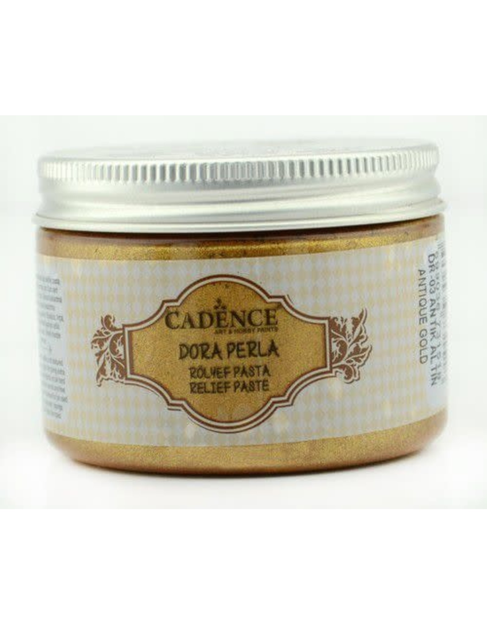 Cadence Cadence Dora Perla Met. Relief Pasta Antiek goud  150 ml