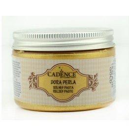 Cadence Cadence Dora Perla Met. Relief Pasta Goud 150 ml