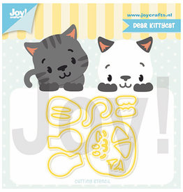 Joy Craft Joy Crafts Jocelijne - Lieve Kittykat 6002/1321