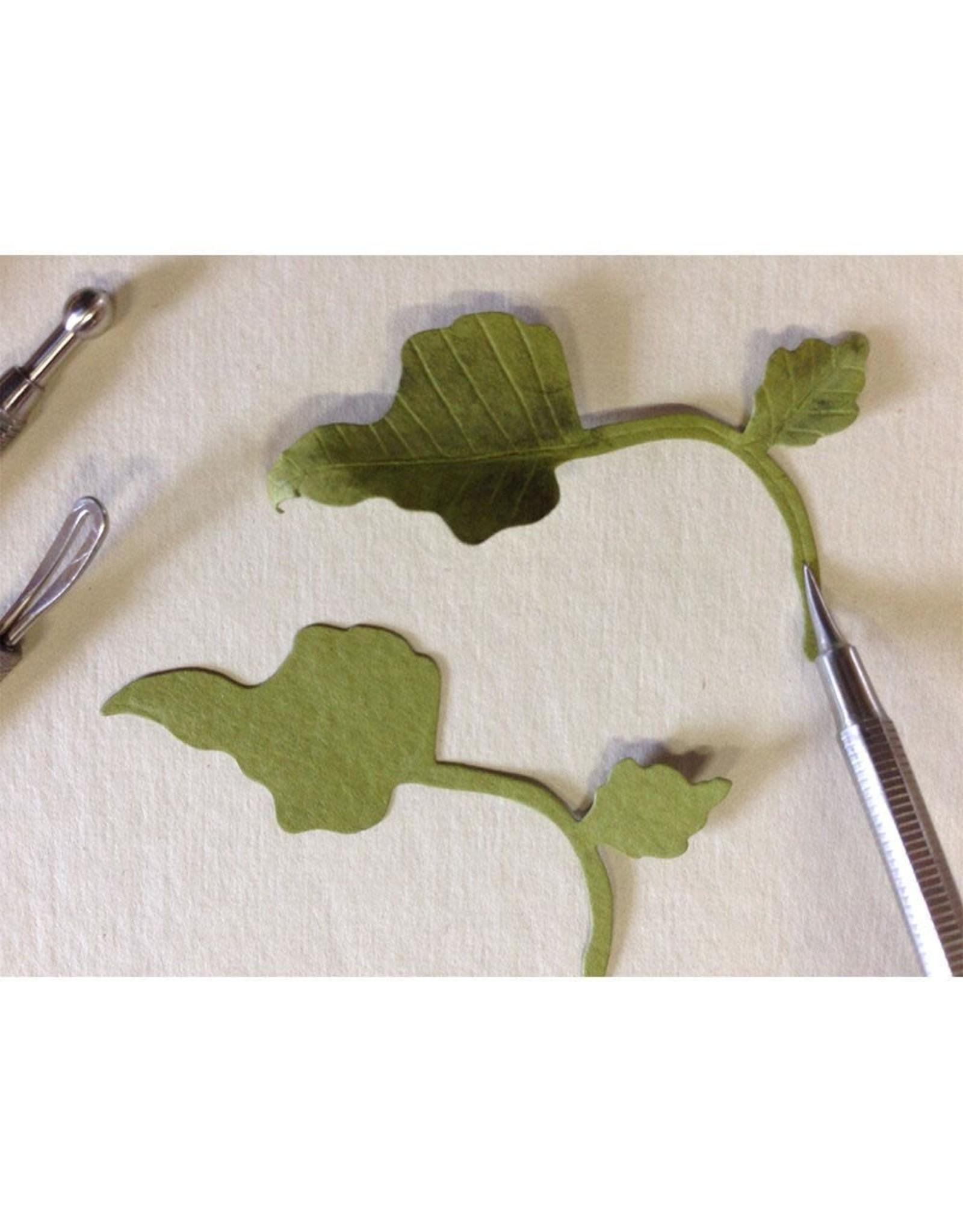 "Elizabeth Craft Designs Elizabeth Craft Designs  Susan's garden Leaf Pad 4"" X 6"" (5 Pack)"