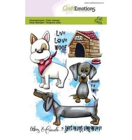 Craft Emotions CraftEmotions clearstamps A6 - Odey & Friends 3 Carla Creaties