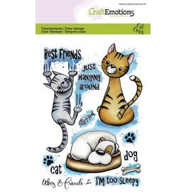 Craft Emotions CraftEmotions clearstamps A6 - Odey & Friends 2 Carla Creaties