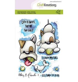 Craft Emotions CraftEmotions clearstamps A6 - Odey & Friends 1 Carla Creaties
