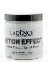 Cadence Cadence Beton Effect Relief Pasta Grijs BR250 250 ML