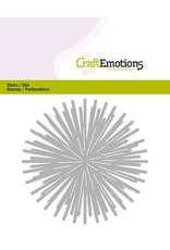 Craft Emotions CraftEmotions Die - ster - stralen rond Card 11x9cm - 8,5cm