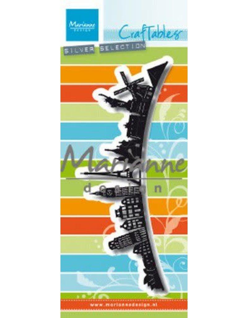 Marianne Design Marianne D Craftable Around the world Border CR1472 142x75,5mm