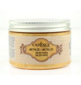 Cadence Cadence Metallic Relief Pasta Goud 01 085 5903 0150 150 ml