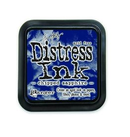 Ranger Ranger Distress Inks pad - chipped sapphire stamp pad TIM27119 Tim Holtz