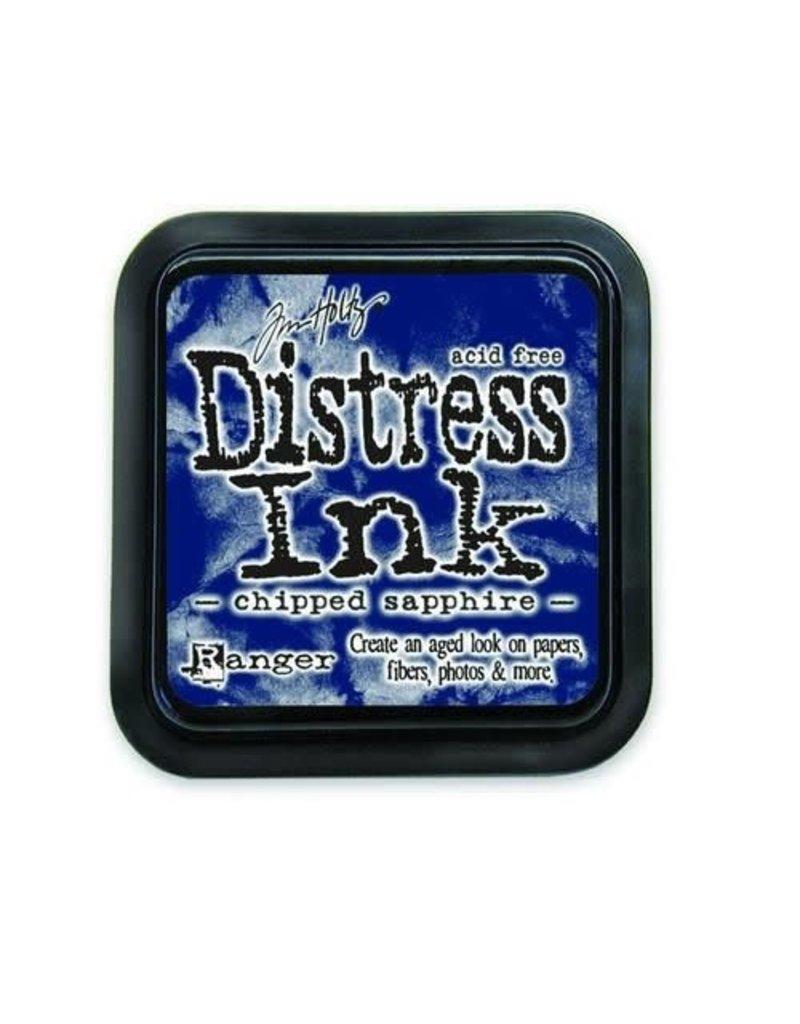 Ranger Ranger Distress Inks pad - chipped sapphire stamp pad TIM27119 Tim Holtz
