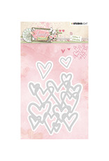 Studio Light Studio Light STENCILLM214 - Cutting and Embossing Die Cut, Lovely Moments nr.214