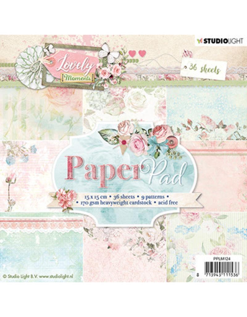 Studio Light Studio Light PPLM124 - Paper Pad, Lovely Moments nr.124