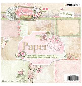 Studio Light Studio Light PPLM123 - Paper Pad, Lovely Moments nr.123