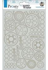 Pronty Pronty Chipboard Gears A5 492.010.002 by Jolanda