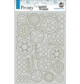 Pronty Pronty Chipboard Gears A5 492.010.002 by Jolanda