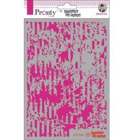 Pronty Pronty Mask stencil A5 Grunge Lines 470.770.011 by Jolanda