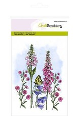 Craft Emotions CraftEmotions clearstamps A6 - veldbloemen 3 GB