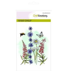 Craft Emotions CraftEmotions clearstamps A6 - veldbloemen 2 GB