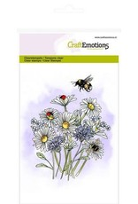 Craft Emotions CraftEmotions clearstamps A6 - veldbloemen 1 GB