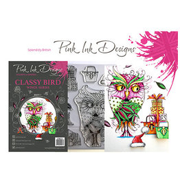 Creative Expressions Pink Ink Designs Classy Bird(Wings Serie) PI033
