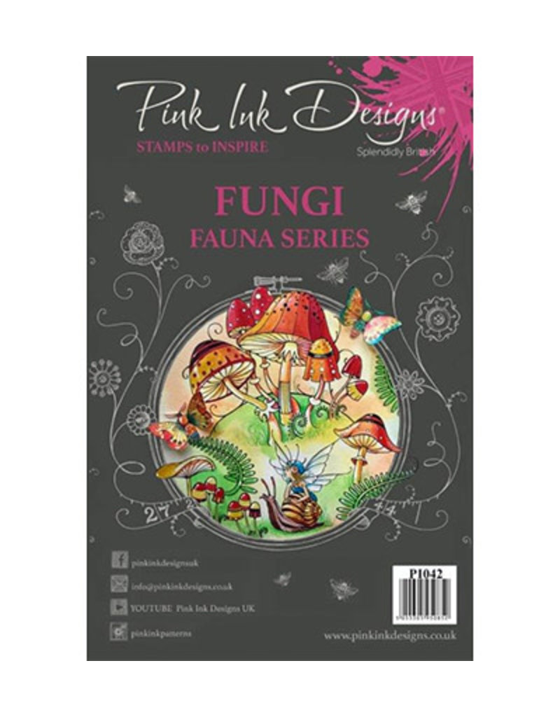 Pink Ink Designs Fungi PI042