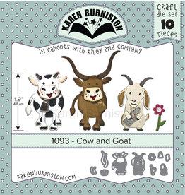 Karen Burniston Karen Burniston Cow and Goat 1093