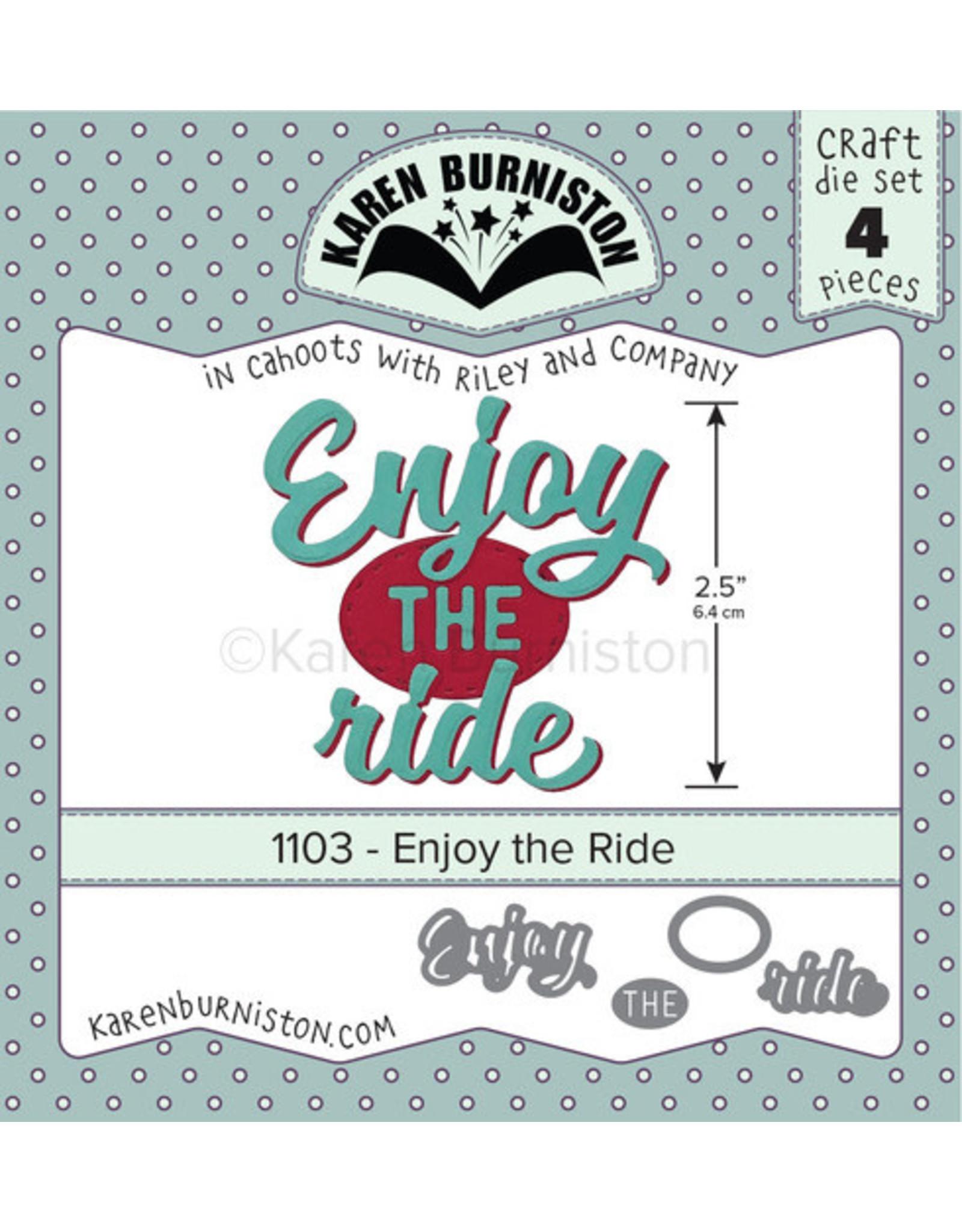 Karen Burniston Karen Burniston Enjoy the Ride 1103
