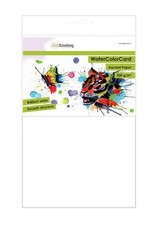 Craft Emotions CraftEmotions WaterColorCard - briljant wit 10 vl A4 - 200 gr