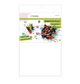 Craft Emotions CraftEmotions WaterColorCard - briljant wit 10 vl A4 - 350 gr