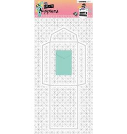 Studio Light Studio Light Embossing Die 87x202 mm Create Happiness nr.161 STENCILCR161