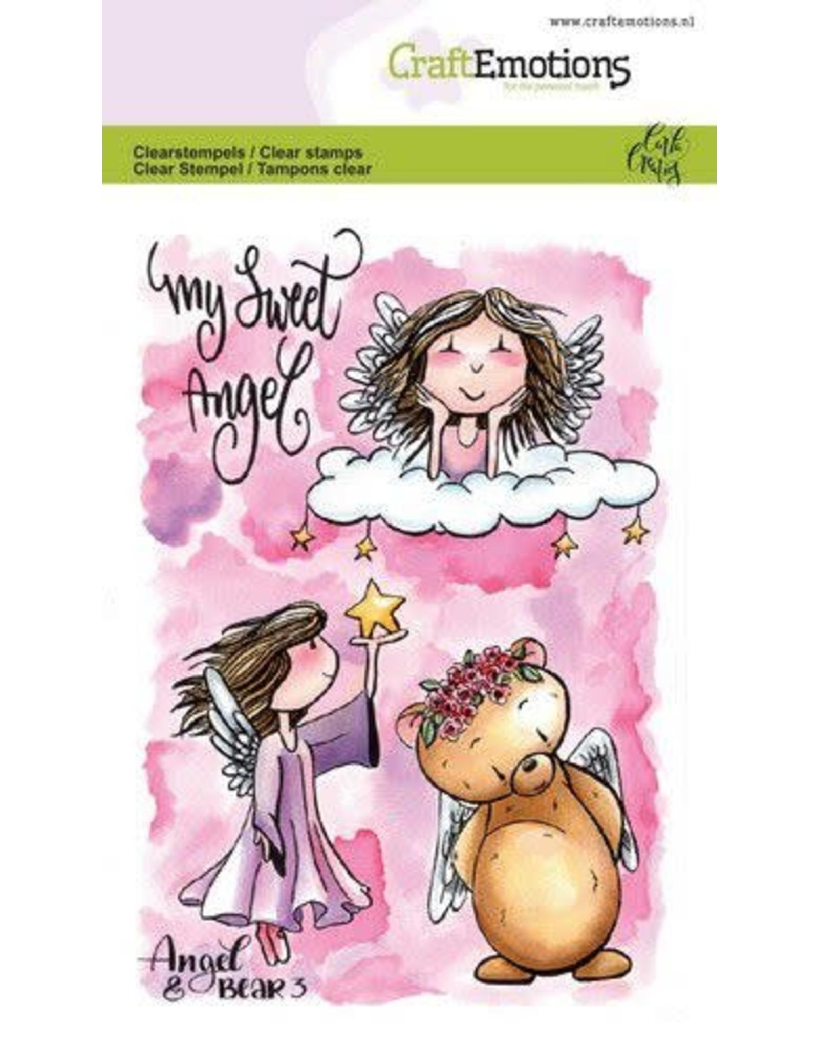 Craft Emotions craftemotionsclearstampsa6-angelbear3carlacreaties