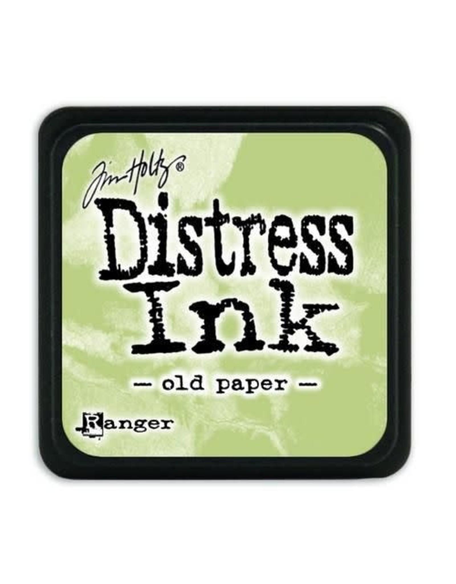 Ranger Ranger Distress Mini Ink pad - old paper TDP40057 Tim Holtz
