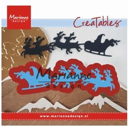 Marianne Design Marianne D Creatable Santa is coming LR0495
