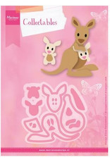 Marianne Design Marianne D Collectable Eline's kangaroo & baby COL1446