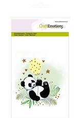 Craft Emotions CraftEmotions clearstamps A6 - panda GB