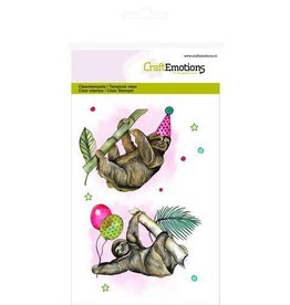 Craft Emotions CraftEmotions clearstamps A6 - luiaard