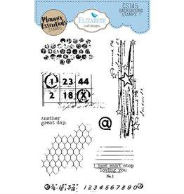 Elizabeth Craft Designs Elizabeth Craft Designs PLanner essentials stamps Backgrund stamps 1  CS145