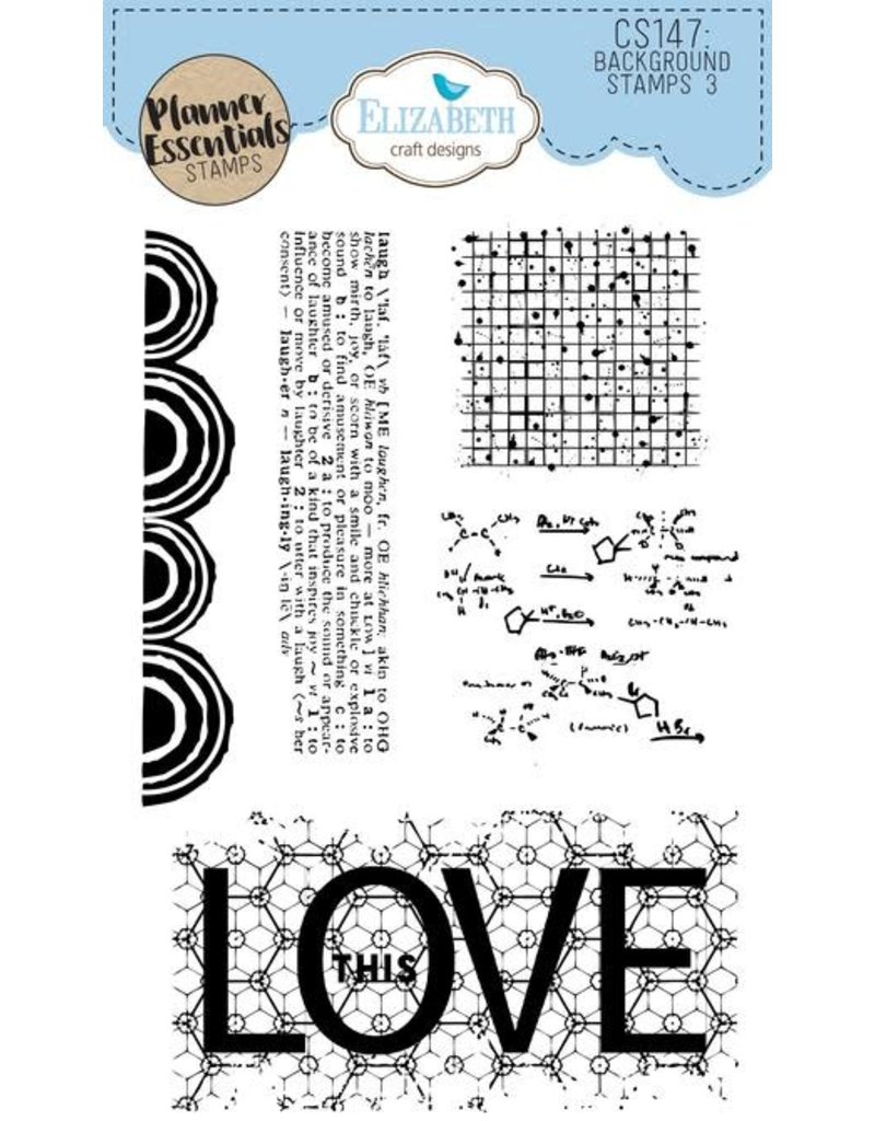 Elizabeth Craft Designs Elizabeth Craft Designs PLanner essentials stamps Background stamps 3  CS147