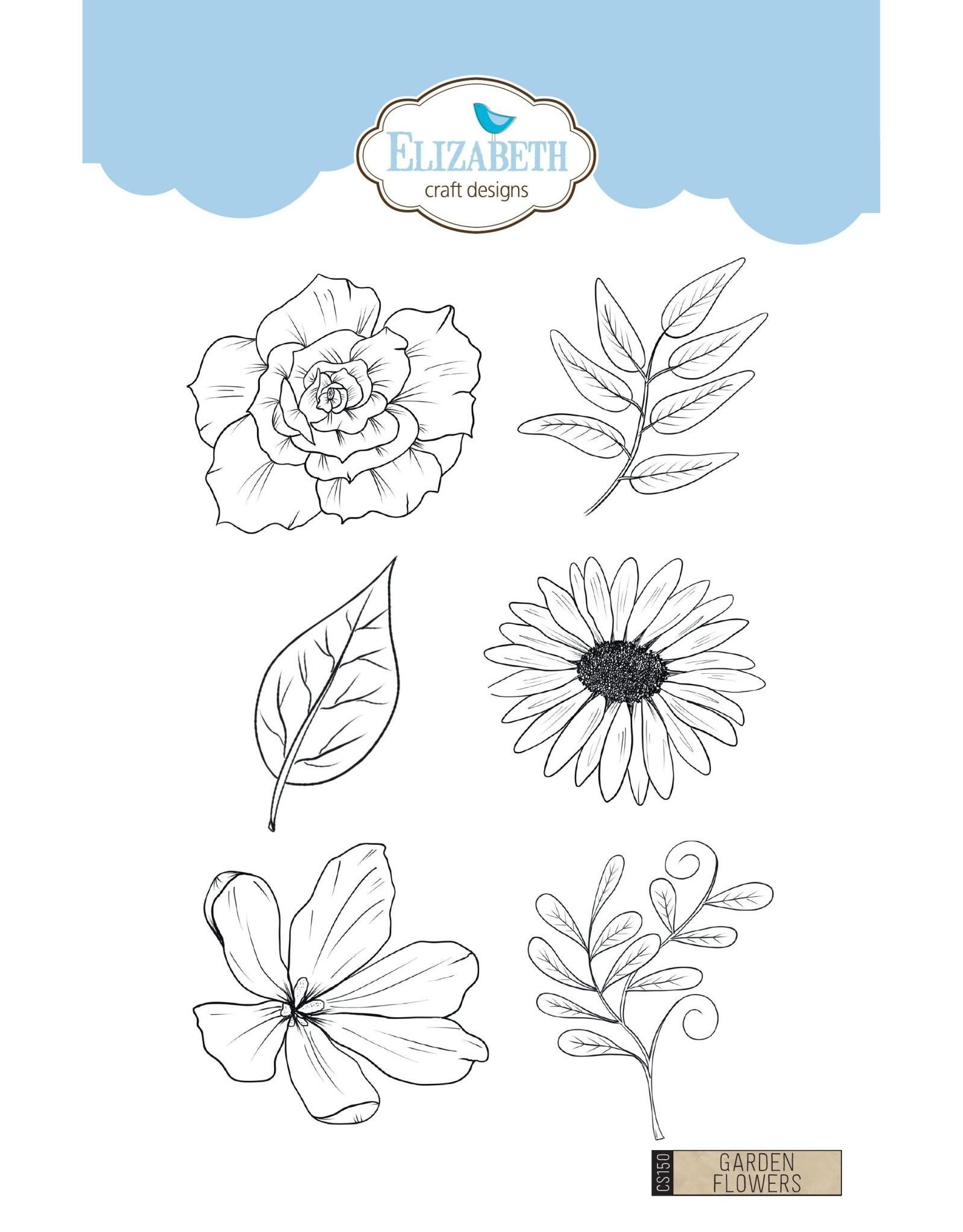 Elizabeth Craft Designs Elizabeth Craft Designs Garden Flowers CS150 Charlene vd Vorst